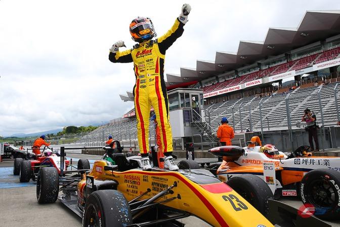 Takaboshi retains All-Japan F3 points lead at Fuji