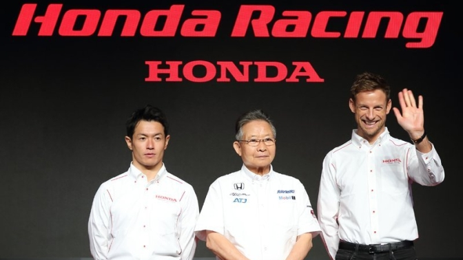 Jenson Button to drive Raybrig Team Kunimitsu NSX in 2018