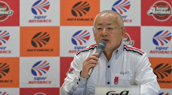 GTA Chairman Bandoh outlines the future of Class One in Okayama press conference